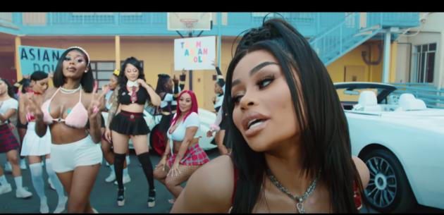 Blac Chyna Ft.  Азиатская кукла «Дум» |  Рэп Радар