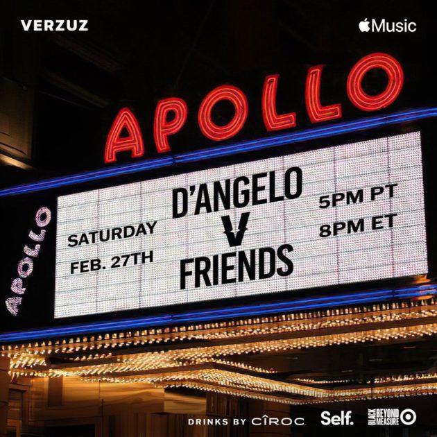 Верзуз: Д'Анджело против друзей |  Рэп Радар